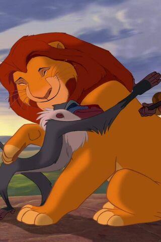 ライオンキングの抱擁