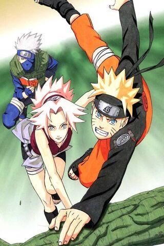 Naruto-Sakura-Kakash