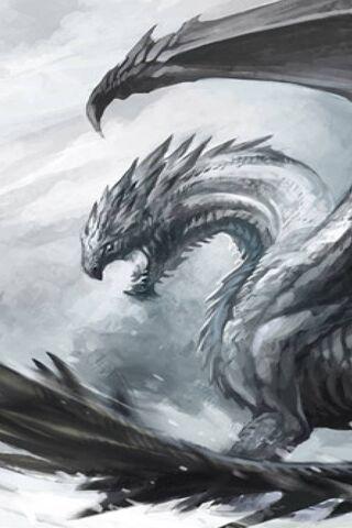 Dragon de neige