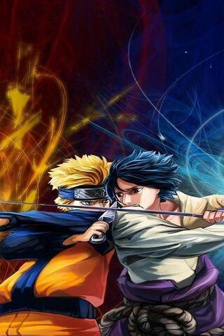 Naruto V S Sasuke