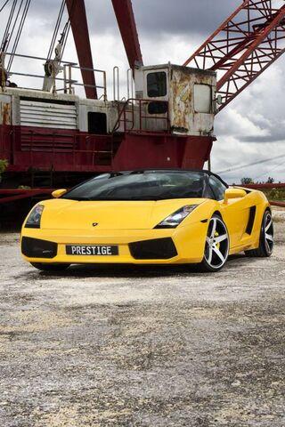 Yellow Lambo