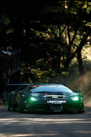 Lamborghini Drift