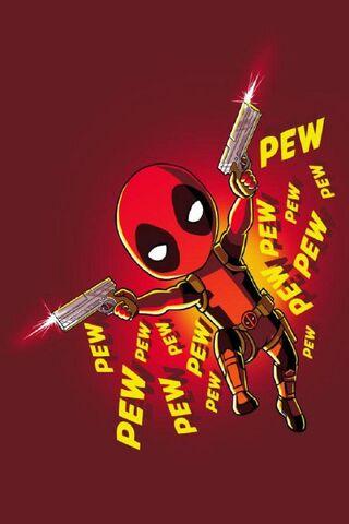 Deadpool Pew Pew