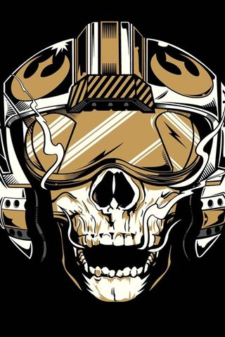 Phoneky Skull Stars Wars Hd Wallpapers