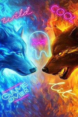 Lobo de fuego