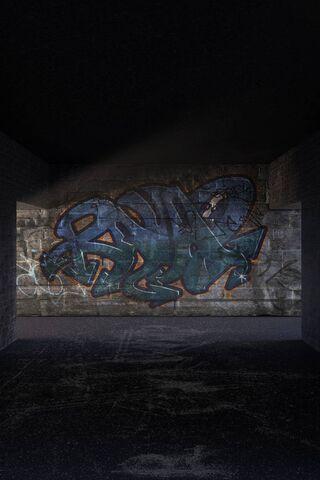 Tầng hầm Graffiti