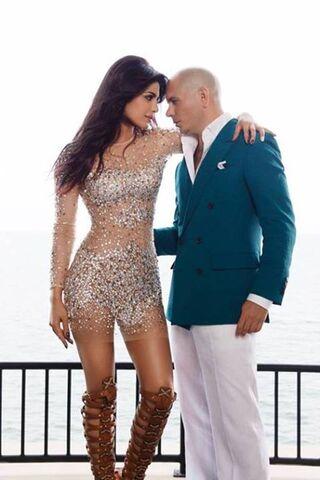 Priyanka dan Pitbull