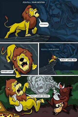 สิงโตเจ้าป่า