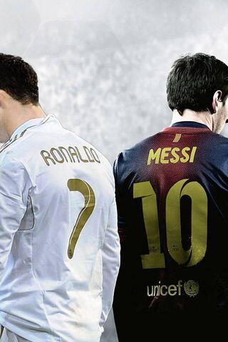 Ronaldo und Messi