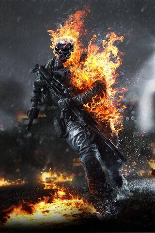 Battlefield 4 Skull