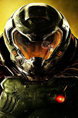 Doom Slayer Face Wallpaper Download To Your Mobile From Phoneky