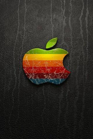इंद्रधनुष Apple लोगो