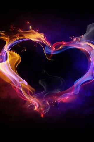Fire Heart Hd