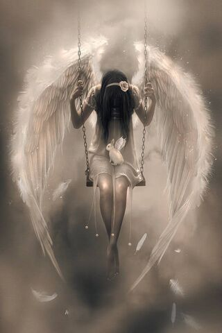 Sad Angel Wallpaper - Download to your mobile from PHONEKY