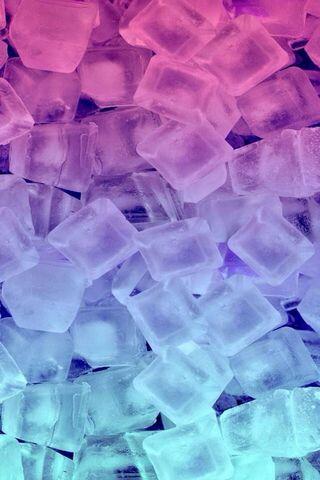 Kolorowy lód