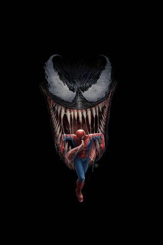 Venom Et Spiderman Fond D Ecran Telecharger Sur Votre Mobile Depuis Phoneky