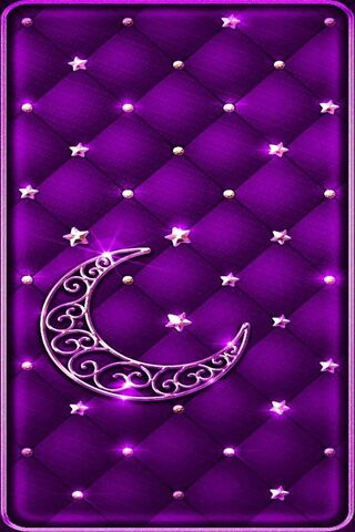 Lua roxa