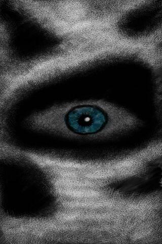 Scary Skull Eye