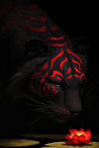 लाल बाघ लिली