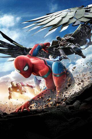 स्पाइडर मैन एक्शन में