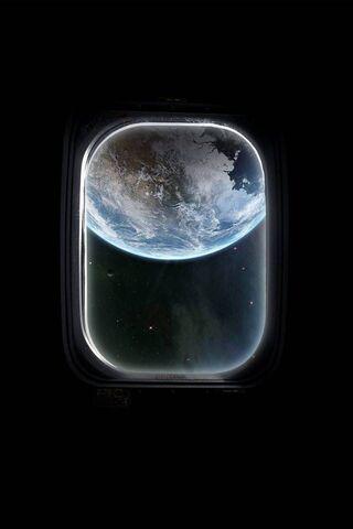Космическое окно