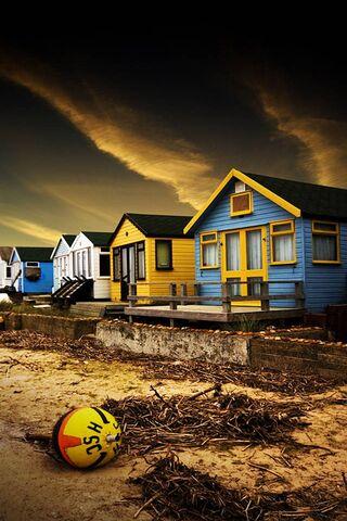 منازل الشاطئ