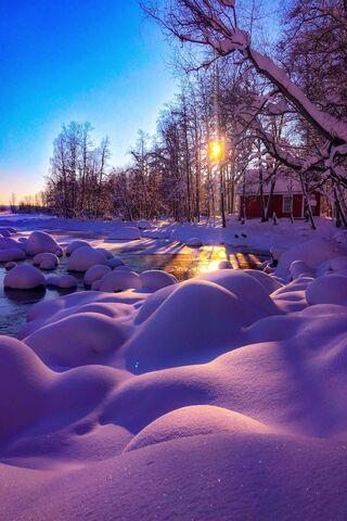 Phoneky Winter Hdr Hd خلفيات