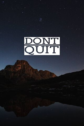 प्रेरणा छोड़ो मत