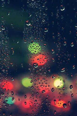 Window-Raindrops-