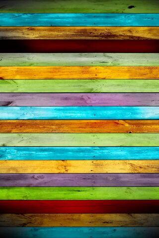 الخشب الملون