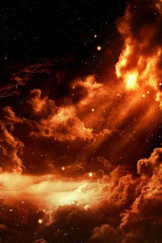الفضاء النار