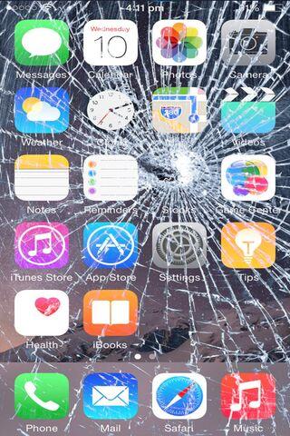 IPhone patah