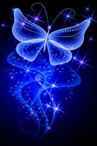 Neonowy Motyl