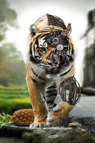 Futuristic -Tiger