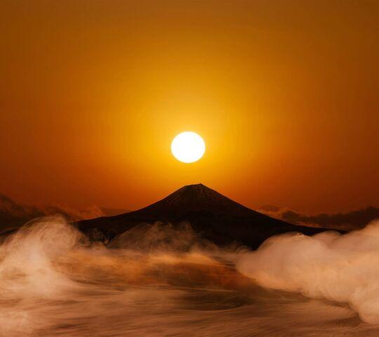 شمس مشرقة الخلفية تحميل إلى هاتفك النقال من Phoneky