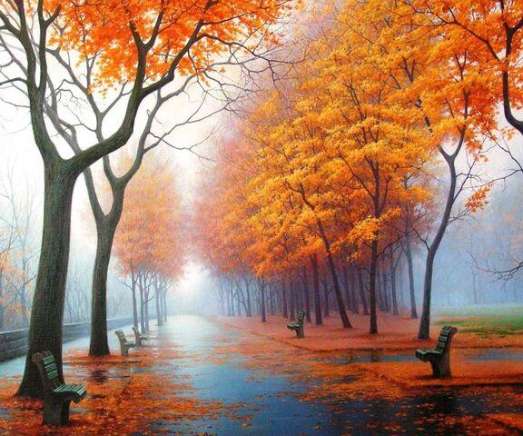 foto de Marche d'automne Fond d'écran - Télécharger sur votre mobile ...