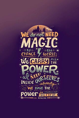 We Don't Need Magic