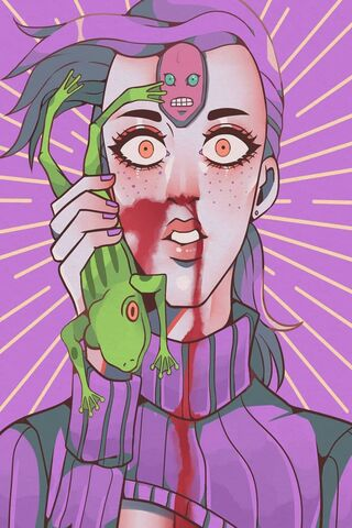 Doppio With A Frog