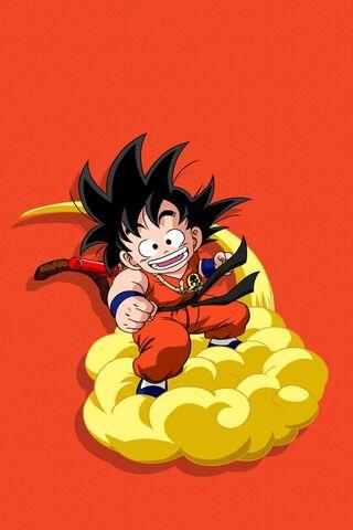 Kid Goku Magic Cloud