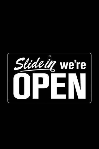 Slide Open