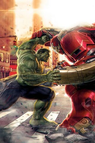 Hulk and Iron Man
